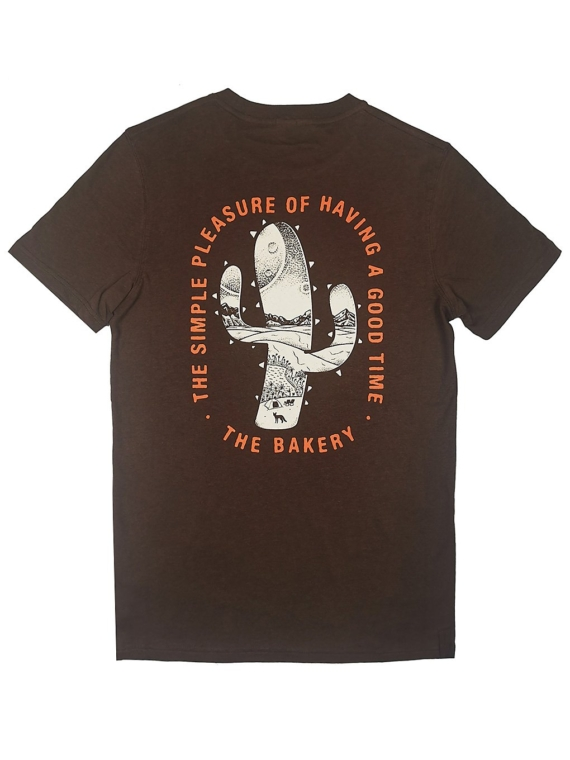 The Bakery Fennec T-Shirt bruin