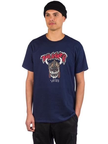 Thrasher Lotties T-Shirt blauw