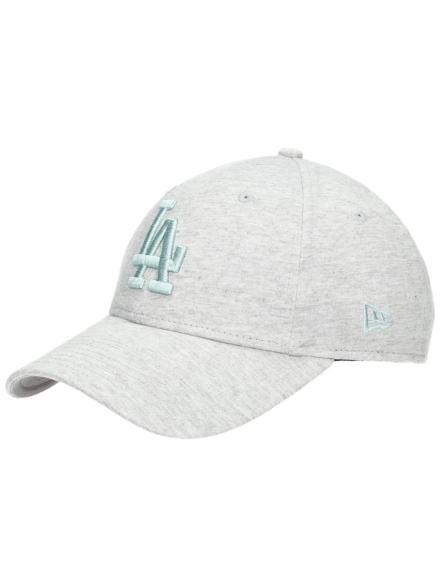 New Era Essential Jersey 9Forty LA Dodgers petje grijs
