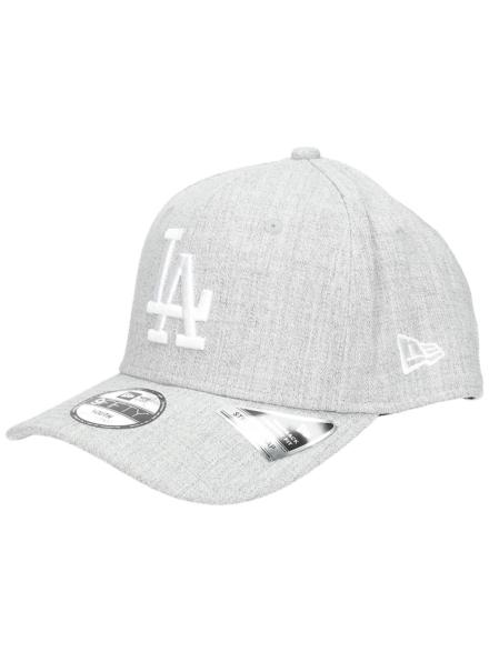 New Era 9Forty Heather LA Dodgers petje grijs