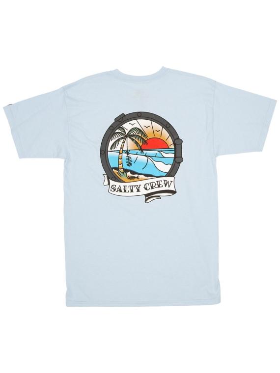 Salty Crew Portside T-Shirt blauw