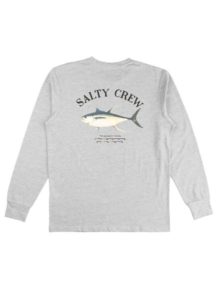 Salty Crew Ahi Mount Longsleeve Lycra grijs