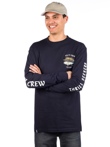 Salty Crew Voyager Long Sleeve T-Shirt blauw
