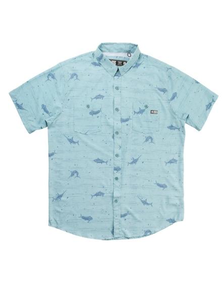 Salty Crew Horizon UV Shirt blauw