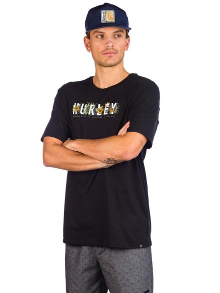 Hurley DF Flourish T-Shirt zwart