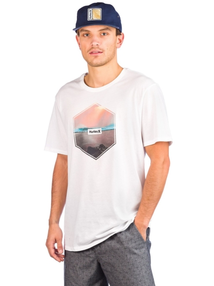 Hurley DF Hex T-Shirt wit