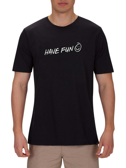 Hurley Have Fun T-Shirt zwart