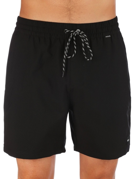 """Hurley One And Only Volley 17"""" Boardshorts zwart"""