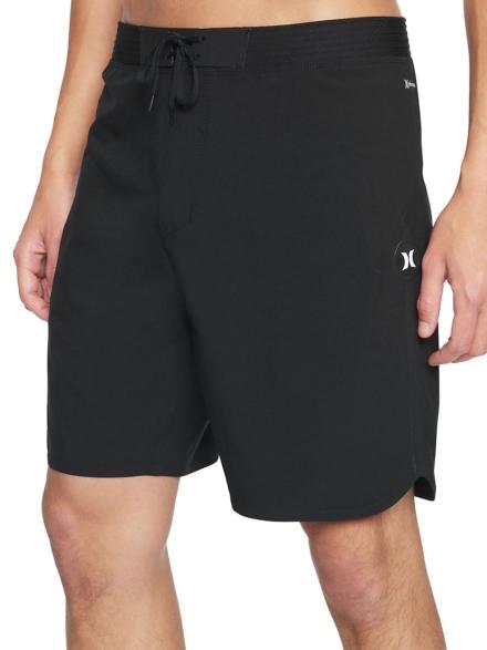 "Hurley Phantom HW Max Solid 18"" Boardshorts zwart"
