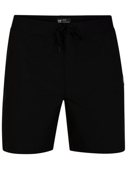 "Hurley Phantom HW Solid 18"" Boardshorts zwart"