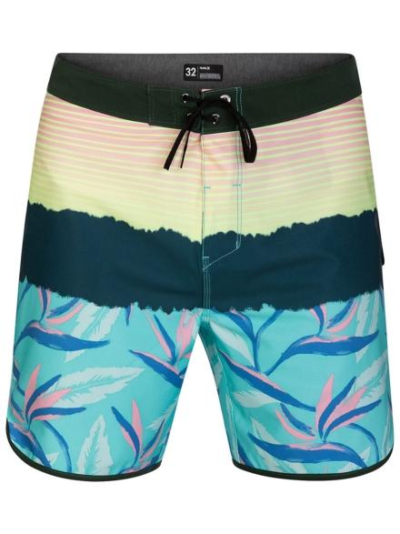 "Hurley Phantom Playa Grande 18"" Boardshorts groen"