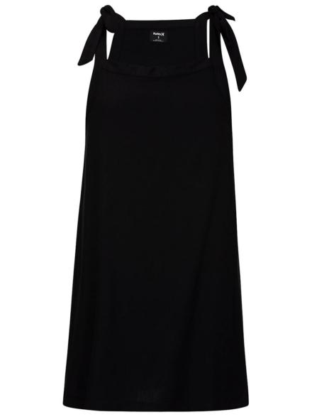 Hurley Woven Tie jurkje zwart