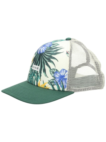Hurley One And Only Small Box Trucker petje bruin