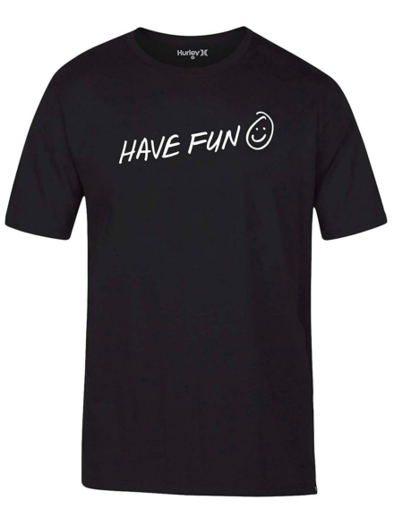 Hurley Have Fun T-Shirt zwart