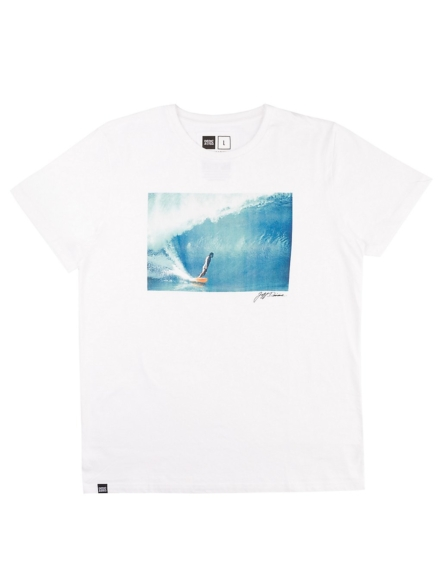 Dedicated Stockholm Lopez T-Shirt wit