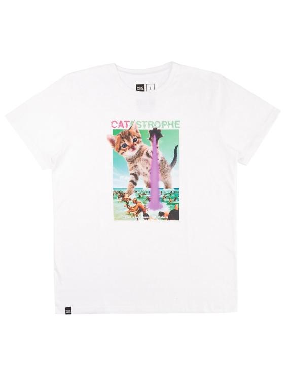 Dedicated Stockholm Catastrophe T-Shirt wit