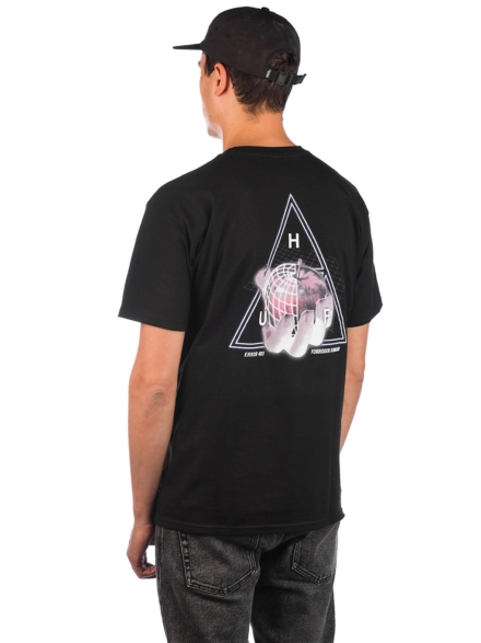 HUF Forbidden Domain T-Shirt zwart