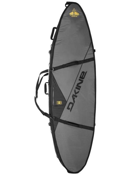 Dakine John John Florence Quad 6'0 Surfboard tas grijs