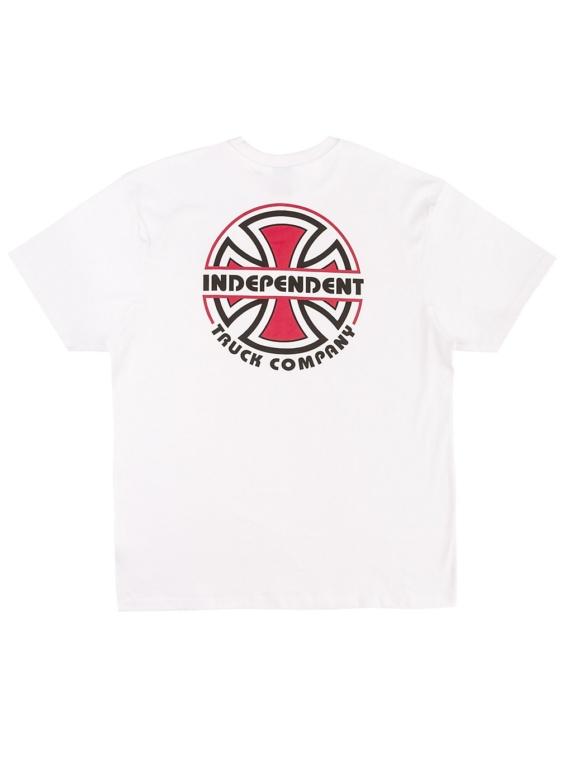 Independent ITC Bauhaus T-Shirt wit