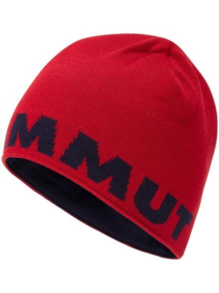 Mammut Logo Beanie rood