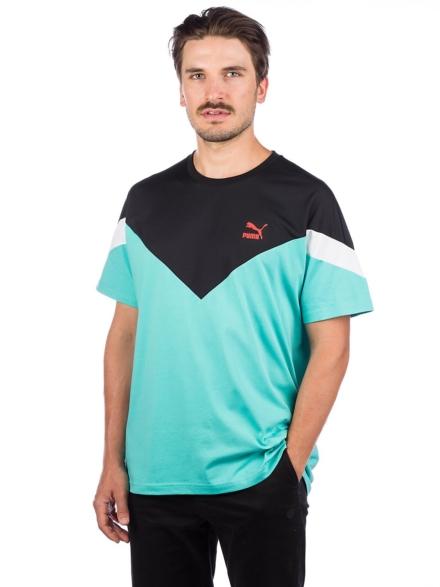 Puma MCS Slim T-Shirt blauw