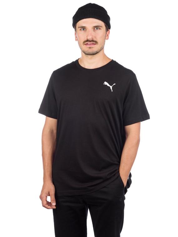 Puma ESS Small Logo T-Shirt zwart