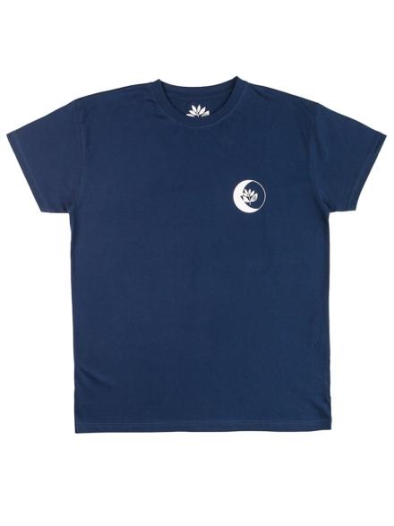 Magenta Moon T-Shirt blauw