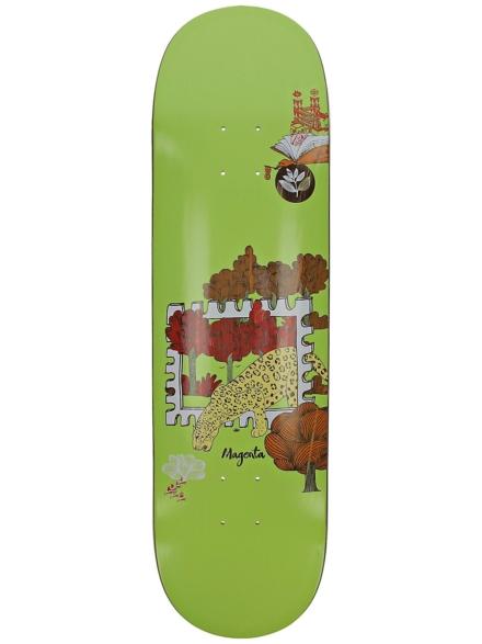 """Magenta Infinite Loop Stamp 8.4"""" Skateboard Deck patroon"""