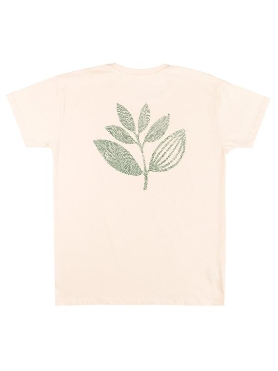 Magenta Points Plant T-Shirt wit
