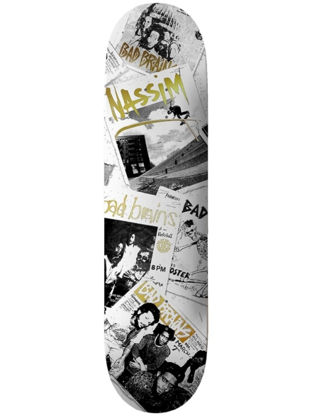 "Element Bad Brains Flyers 8.5"" Skateboard Deck patroon"