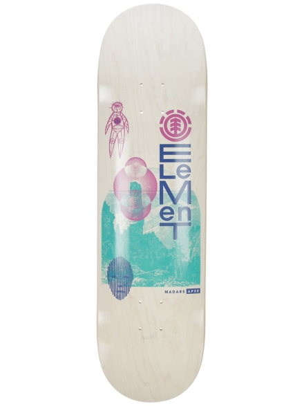 "Element Madars Down To Earth 8.5"" Skateboard Deck patroon"