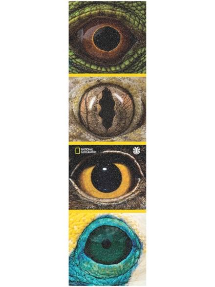 Element Nat Geo Eye Quad Griptape blauw