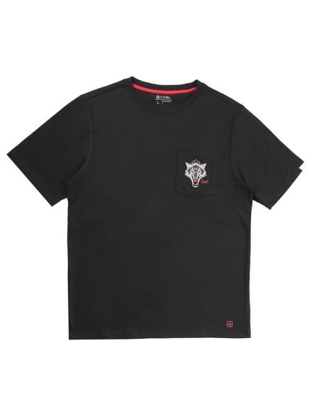 Coal Crater T-Shirt zwart