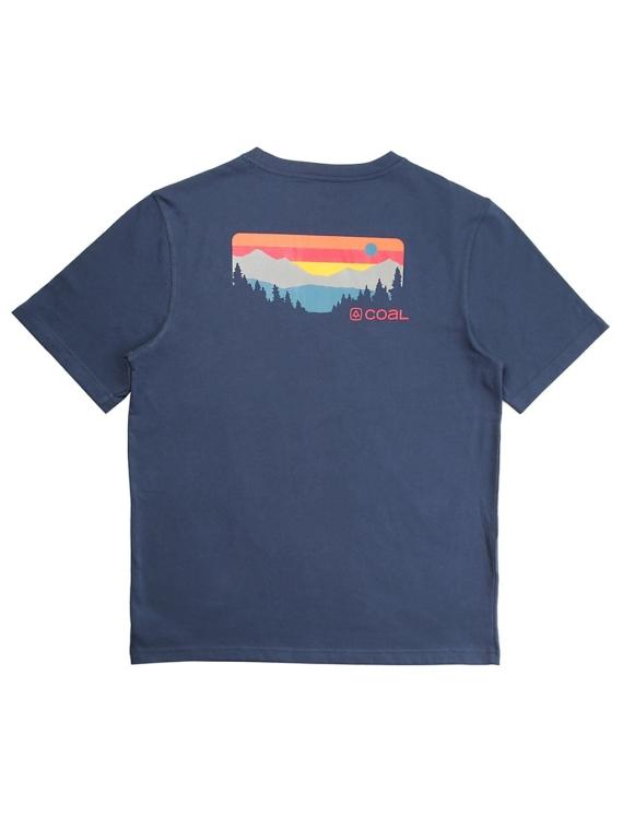 Coal Klamath T-Shirt blauw