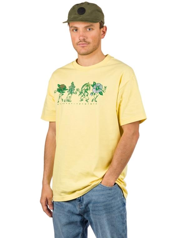 Pass Port Floral Friends T-Shirt geel
