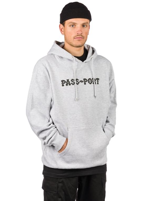 Pass Port Barbs Hoodie grijs