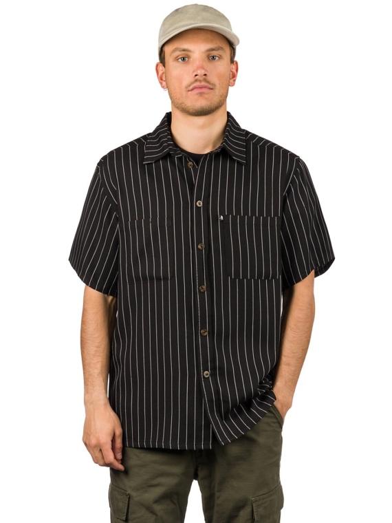 Pass Port Workers Stripe Shirt zwart