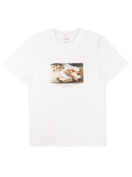 Degree Clothing Reservierte Liege T-Shirt wit