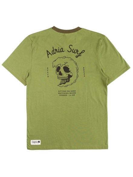 Degree Clothing Adria Surf T-Shirt groen