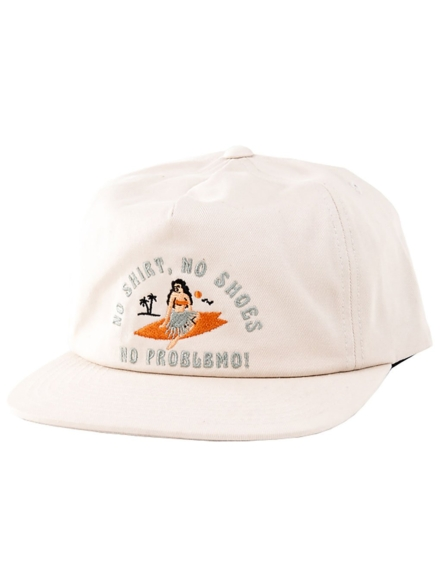 Katin USA Slogan Unstructured hoed bruin