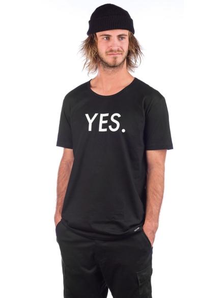 YES Logo T-Shirt zwart