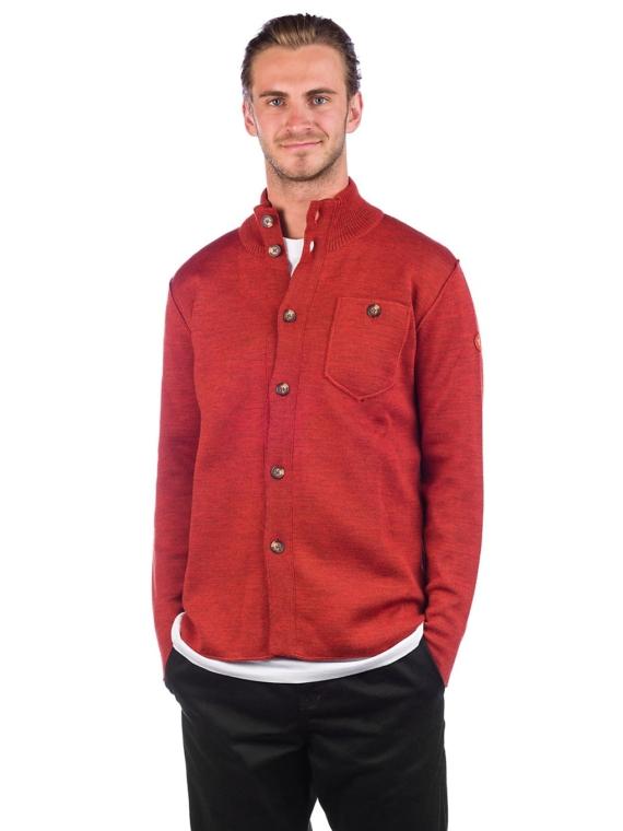 YES Shirt Ski jas rood