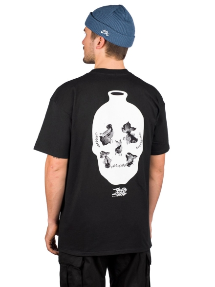 Temple of Skate Fish Bowl T-Shirt zwart
