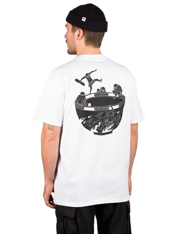 Temple of Skate Devil Bowl T-Shirt wit