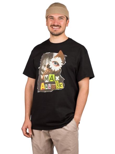 Maxallure Ilusion Face T-Shirt zwart