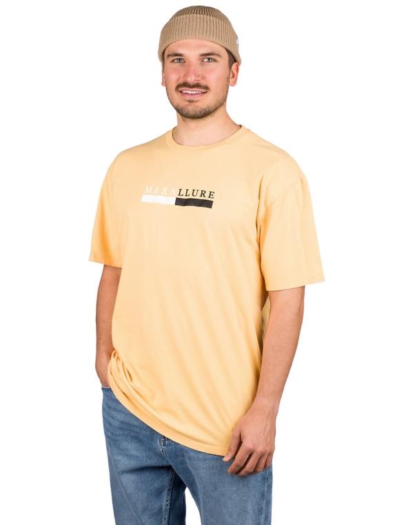 Maxallure Core Split T-Shirt geel