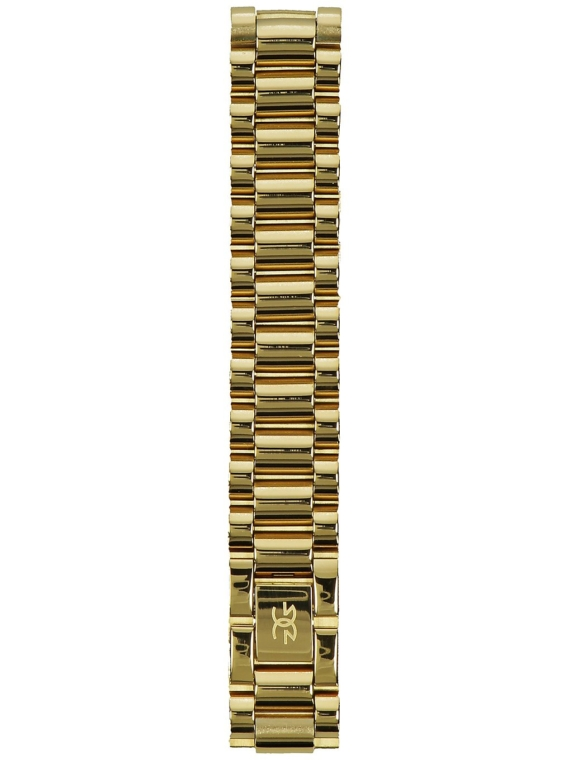 The Gold Gods Watch Link Bracelet geel