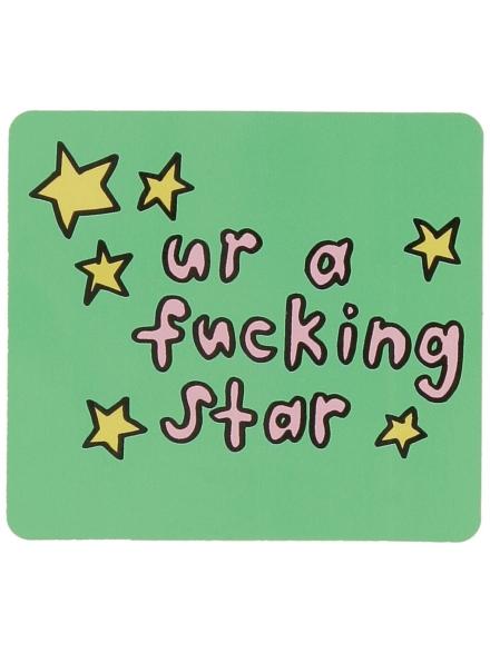 Jac Vanek Ur a Star Sticker patroon