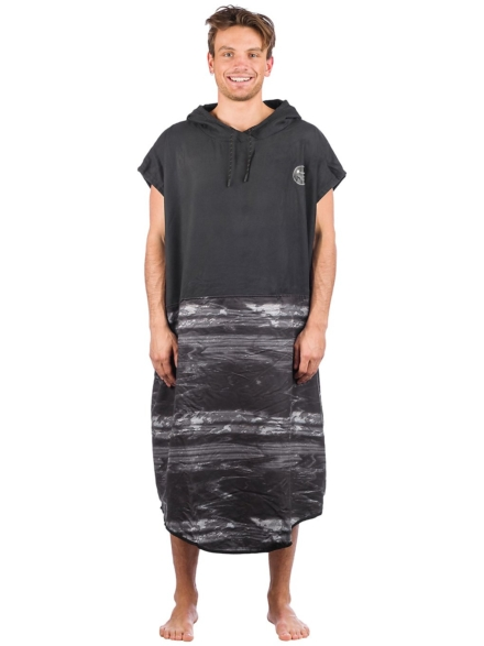 Ion Select Surf Poncho zwart
