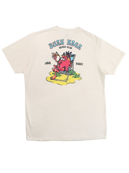 Roark Revival Buah Naga Beach Club T-Shirt wit